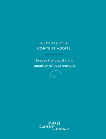 Cover Content Audits Booklet