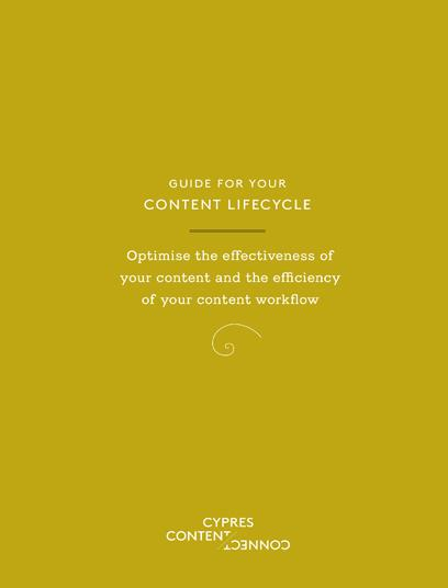 Cover Content Lifecycle Booklet
