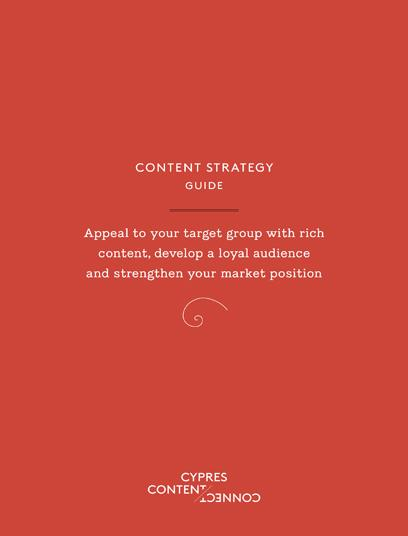 Cover Content Strategy Booklet